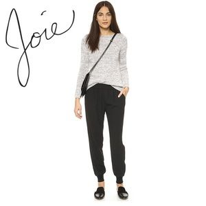 Joie Mariner Jogger Pants In Caviar
